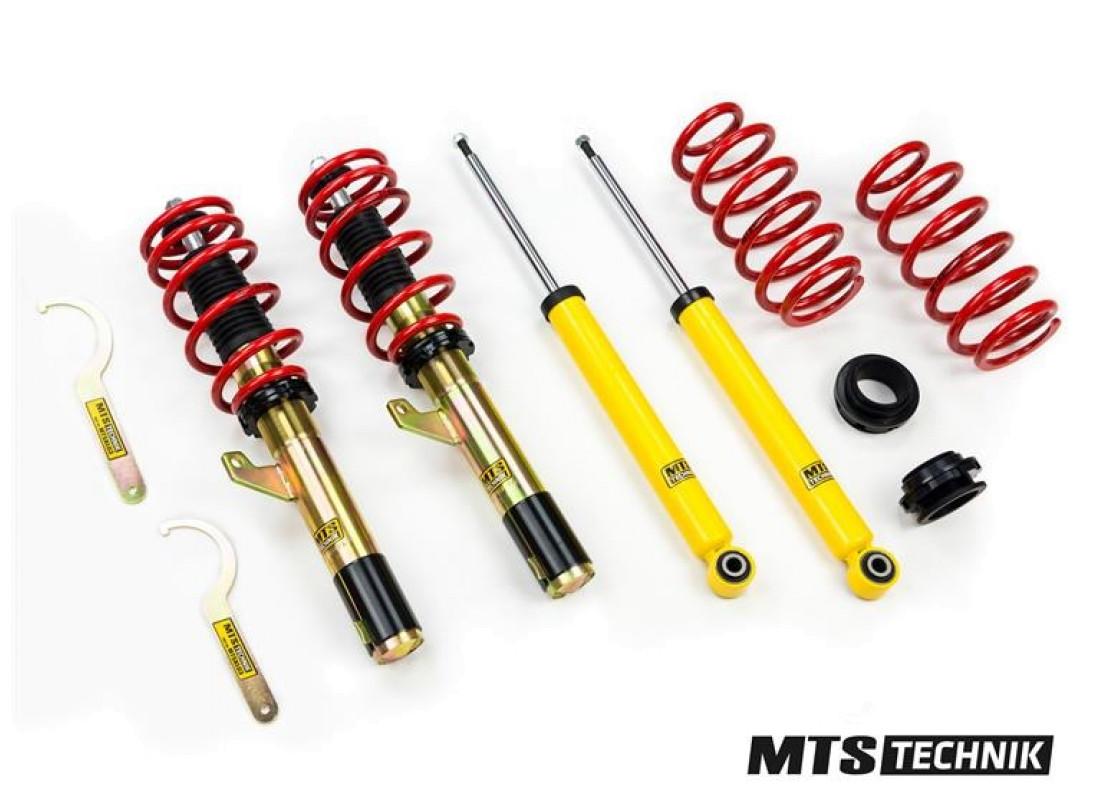 Комплект винтовой подвески (койловеров) MTS Technik AUDI A6 C7 Sedan, 4G2 (2010-) (2.0TFSI Quattro / 2.8FSI Quattro / 3.0TFSI Quattro / 2.0TDI Quattro / 3.0TDI Quattro) (АКПП) с регулировками высоты, MTSGWAU24