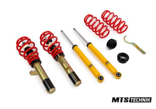 Комплект винтовой подвески (койловеров) MTS Technik AUDI A3 (8P, 8P1) (2003-) (все двигатели, кроме Quattro) (МКПП) с регулировками высоты, MTSGWVW30